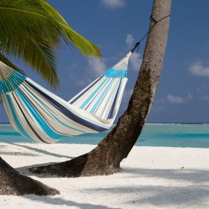 SINGLE HAMMOCK CARIBEÑA AQUA BLUE