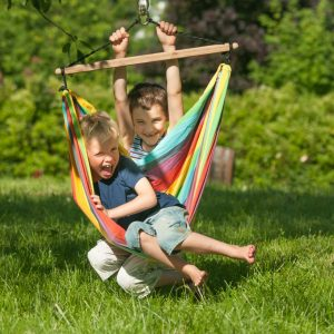 IRI RAINBOW - COTTON KIDS HAMMOCK CHAIR