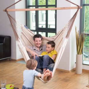 DOUBLE HAMMOCK CHAIR HABANA NOUGAT
