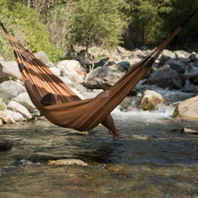 DOUBLE HAMMOCK AVENTURA CAYON BROWN