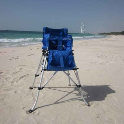 Camel Kidz high chair strong blue