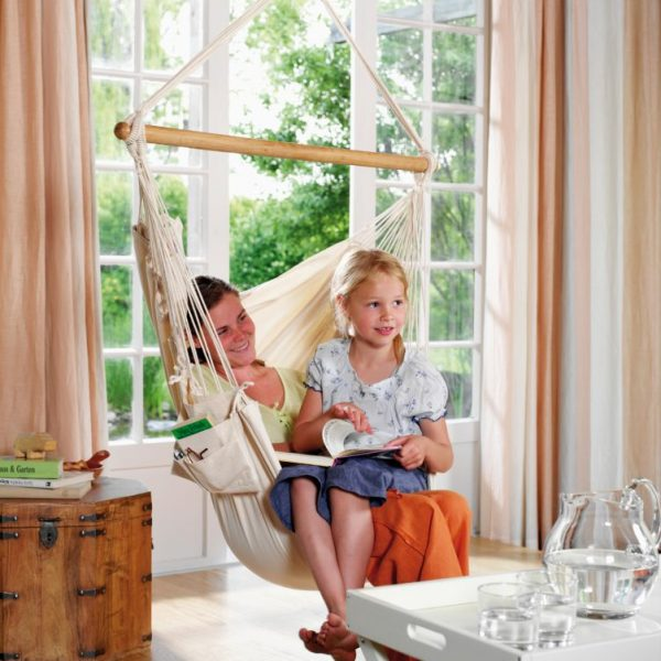 Single hammock chair Modesta Latte