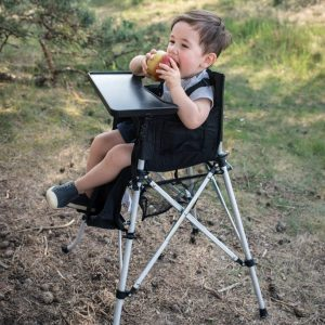CAMEL KIDZ FOLDING TRAVEL HIGH CHAIR BLACK