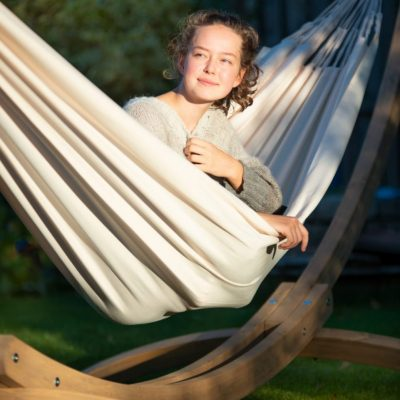 Outdoor double hammock Brisa Vanilla