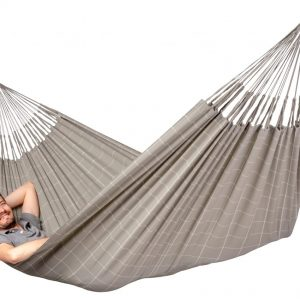 OUTDOOR DOUBLE HAMMOCK BRISA ALMOND