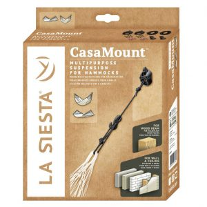 MULTIPURPOSE SUSPENSION FOR HAMMOCKS CASAMOUNT BLACK