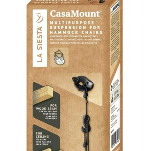 MULTIPURPOSE SUSPENSION FOR HAMMOCKS CHAIRS CASAMOUNT BLACK