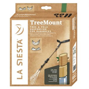 MULTIPURPOSE SUSPENSION FOR HAMMOCKS TREE MOUNT BLACK