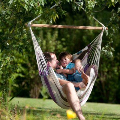 Hammock chair purple
