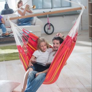 LONGER HAMMOCK CHAIR CURRAMBERA CHERRY