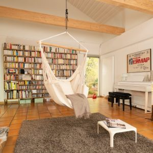 HABANA LATTE - ORGANIC COTTON COMFORT HAMMOCK CHAIR